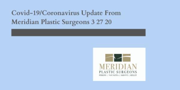 Indianapolis Plastic Surgeons | Dr. Stephen Perkins, MD Coronavirus Closure Update: March 27th